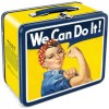 Rosie the Riveter Vintage Lunch Box